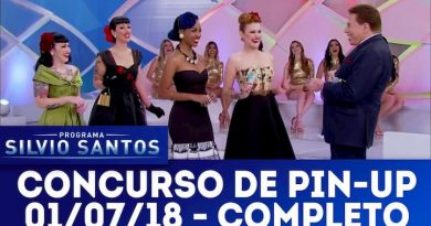 Concurso Pin-up do Programa Silvio Santos